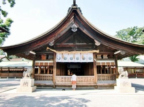 愛知県 尾張大國霊神社 拝殿