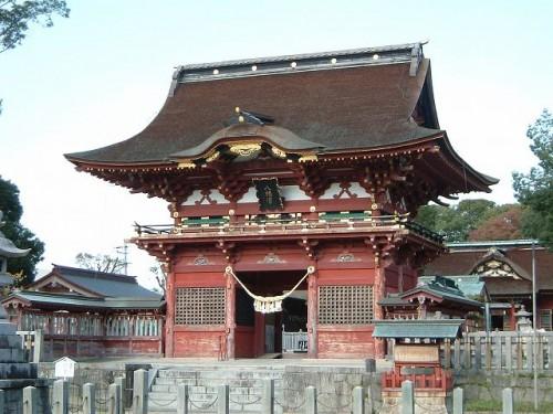 愛知県 伊賀八幡宮