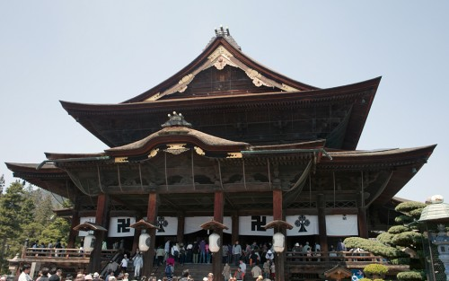 長野県 善光寺