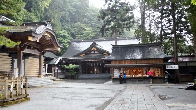 長野県 諏訪大社 本宮