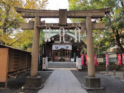 神奈川県 稲毛神社