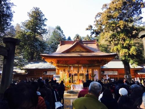 長野県 穂高神社