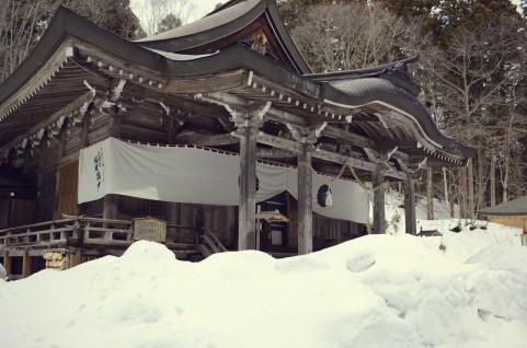 長野県 戸隠神社 中社
