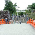 山梨県甲府市の安産祈願 – 武田神社 (たけだじんじゃ)