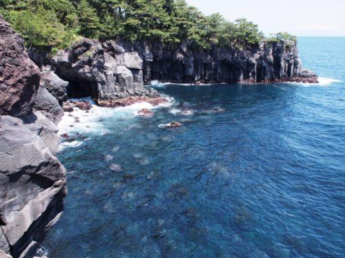 静岡県 東伊豆 城ケ崎海岸